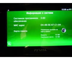 Игровая приставка Sony PS Vita 3.60
