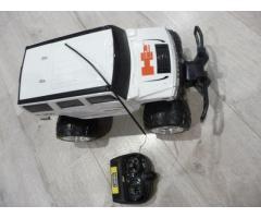 Радиоуправляемый джип Hummer белый
