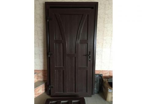 Двери метало-пластиковые (наружные)