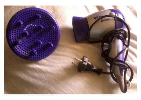 Фен Vitek 1200w фиолетовый