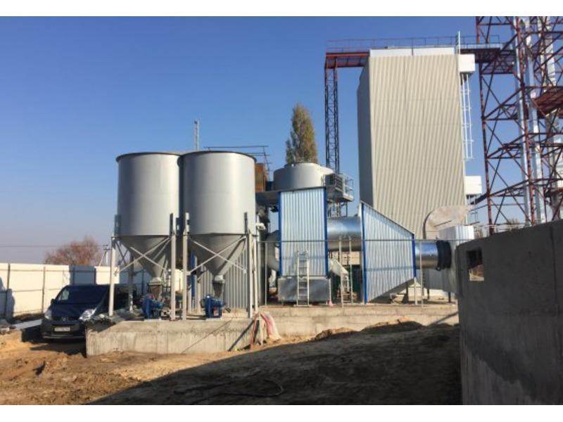 Переобладнання зерносушарок на тверде паливо
