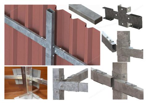 Каркас для паркану металевий