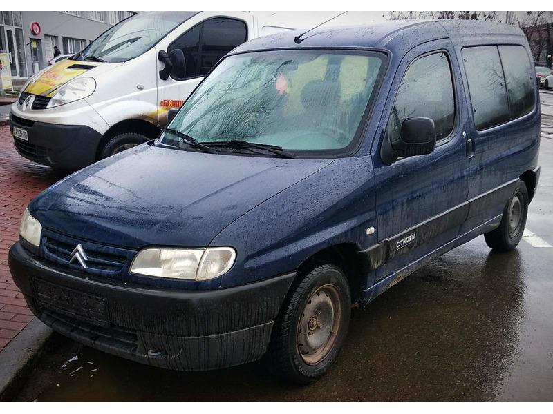 Аренда авто без залога Ситроен Берлинго Киев под выкуп