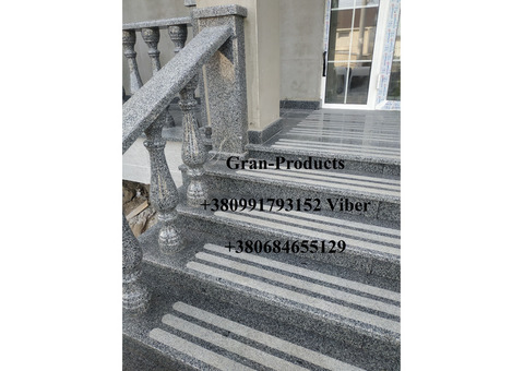 Гранітні сходи, балясини