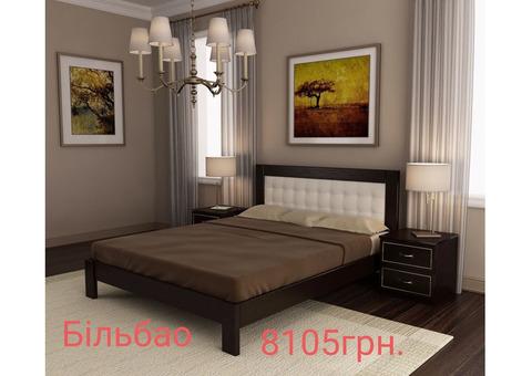 Спальні гарнітури, ліжка,  меблі з натурального дерева