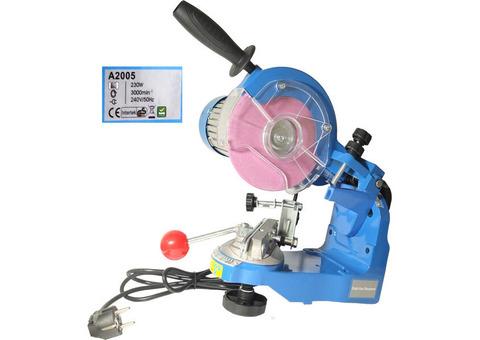 Верстат для заточування пильних ланцюгів, професійний, електричний